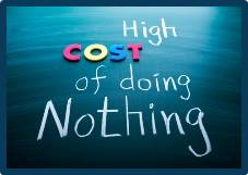 Cost of doing nothing w border